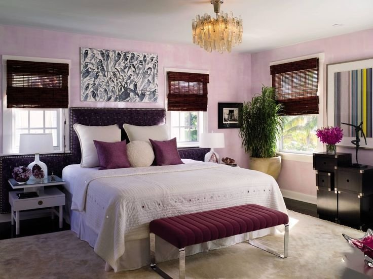 Best 10 Beautiful Master Bedrooms With Purple Walls With Pictures