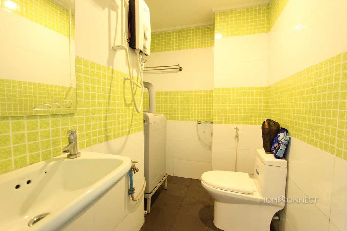 Best Comfortable 2 Bedroom 1 Bathroom Apartment For Rent Near Russian Market Phnom Penh With Pictures
