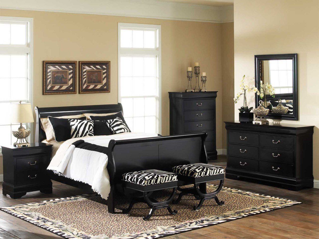 Best Making An Amazing Bed Room With Black Bedroom Furniture Sets Homedee Com With Pictures