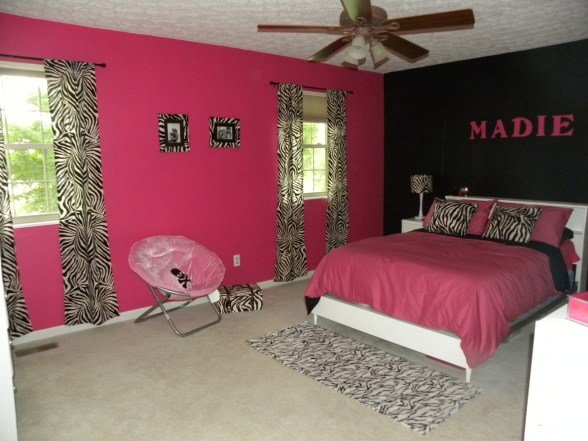 Best Pink And Black Bedrooms 13 Cool Hd Wallpaper With Pictures