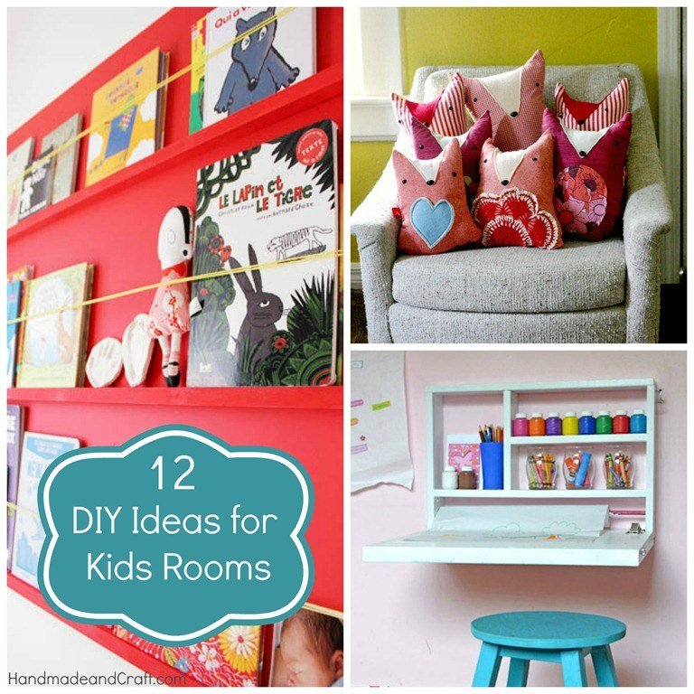 Best 12 Diy Ideas For Kids Rooms Diy Home Decor With Pictures