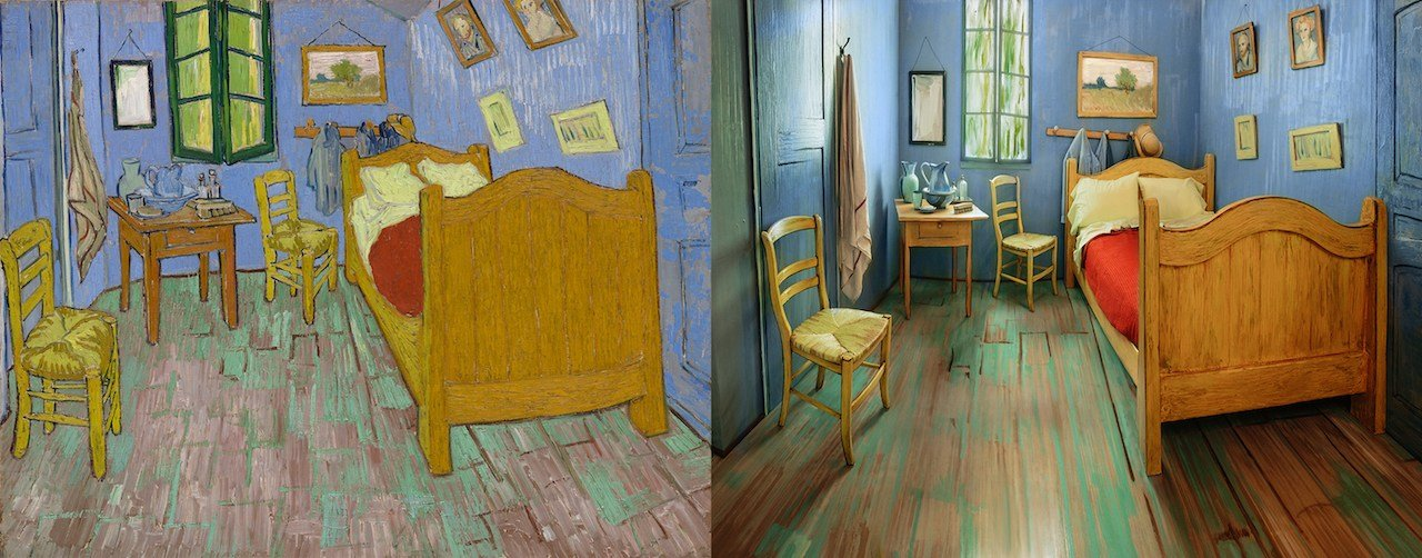 Best Rent A Re Creation Of Vincent Van Gogh's Bedroom On Airbnb With Pictures
