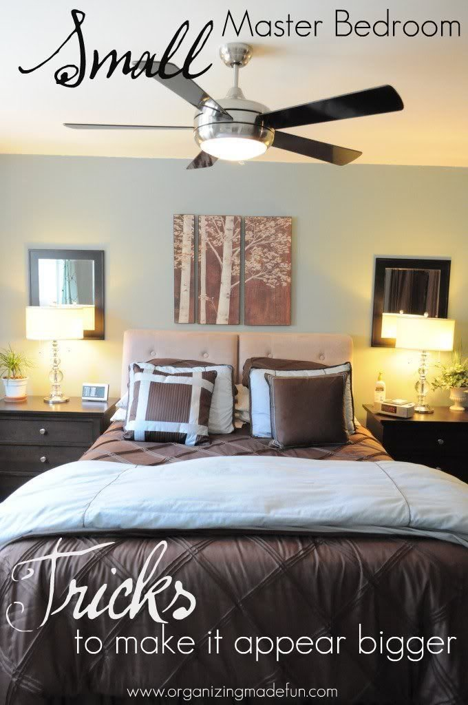 Best Our Master Bedroom Tricks To Make It Feel Bigger With Pictures
