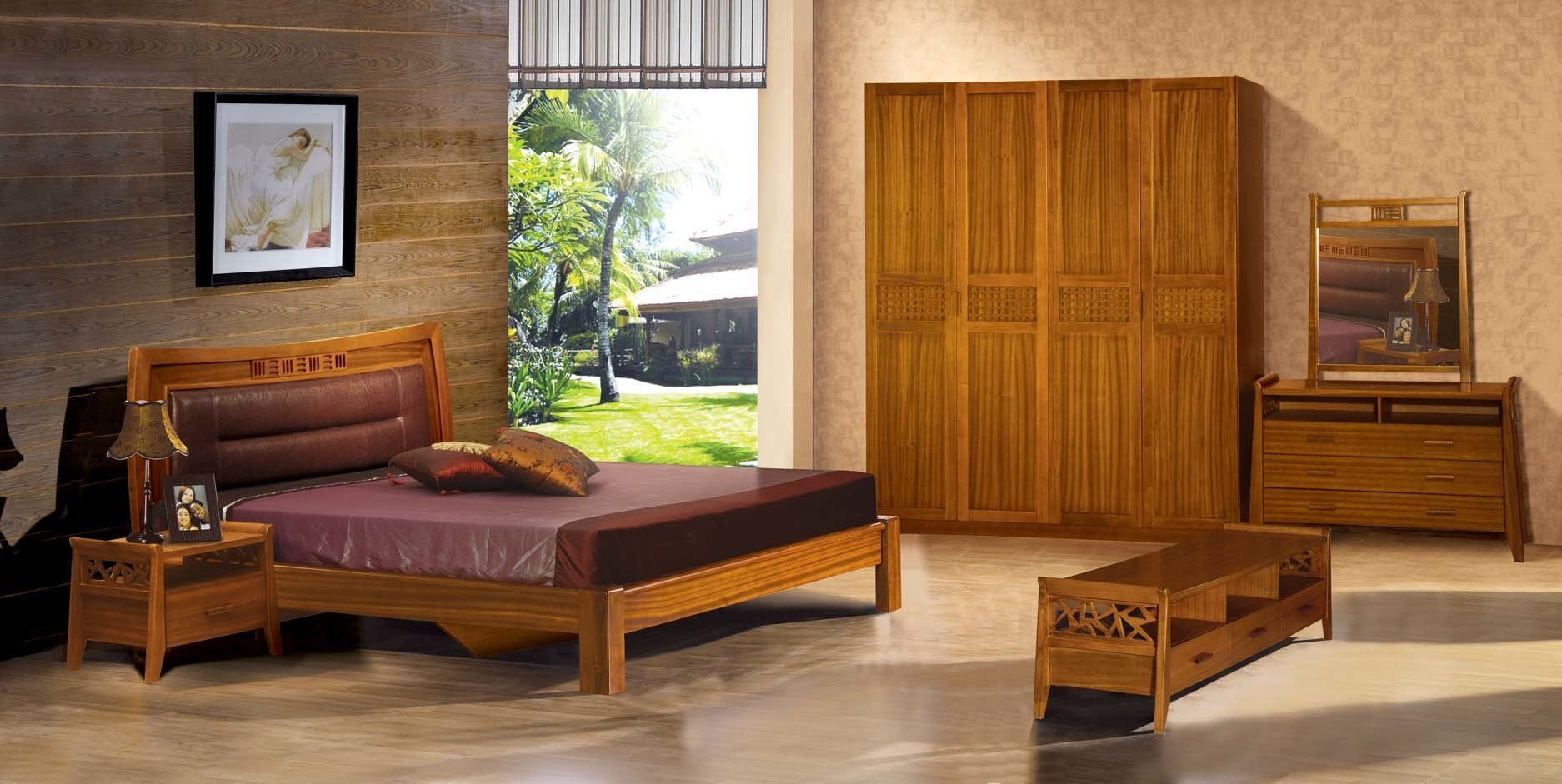 Best Gothic Wood Furniture Bedroom Set Home Decorating Ideas With Pictures