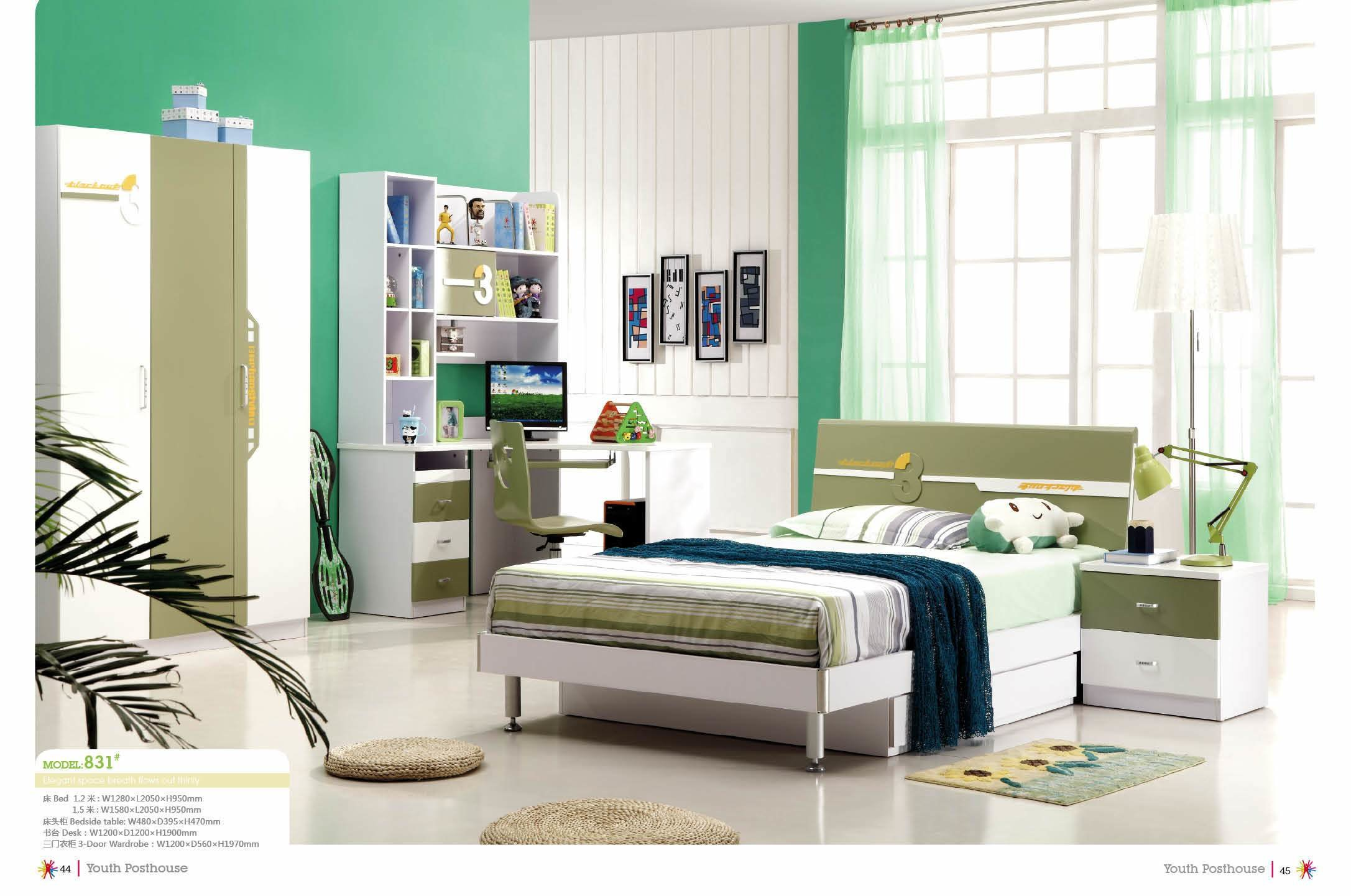 Best China Young Boy S Bedroom Furniture 831 China Bedroom With Pictures