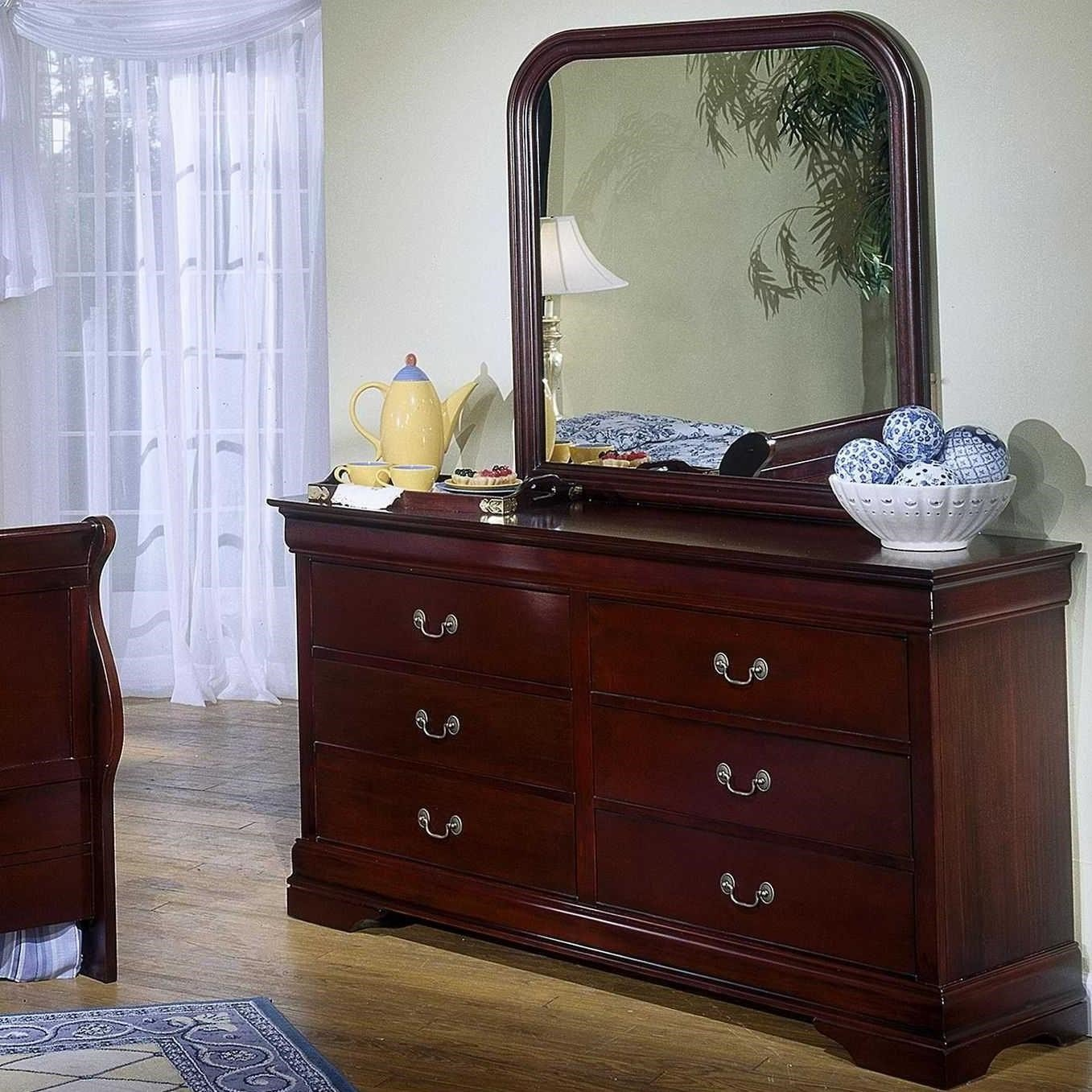 Best Lifestyle 5933 Dresser Mirror Combo Northeast Factory With Pictures