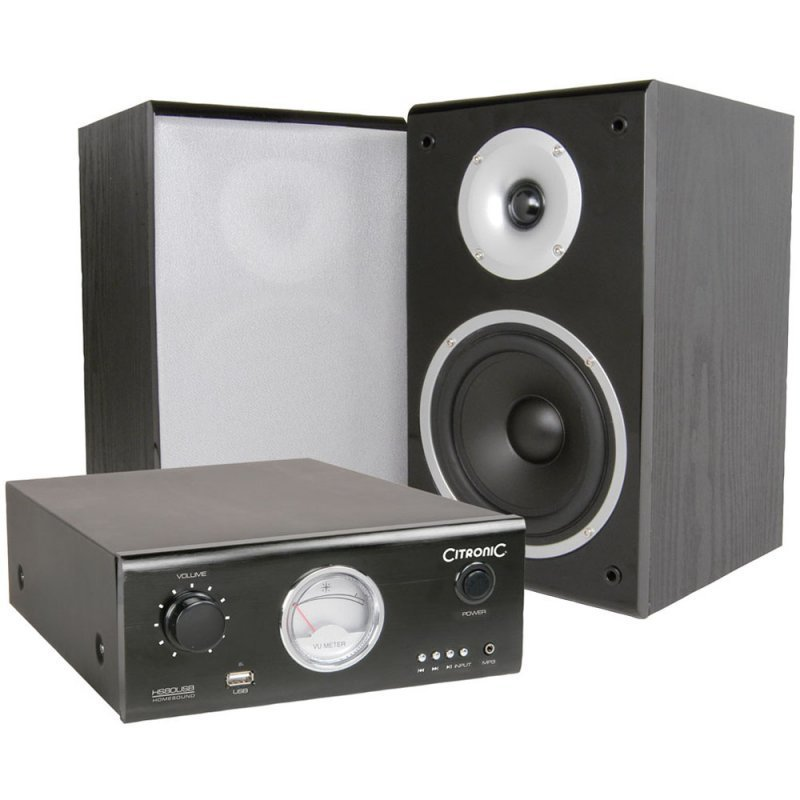 Best Citronic Citronic Bedroom Speaker Monitor Hs80 Usb With Pictures