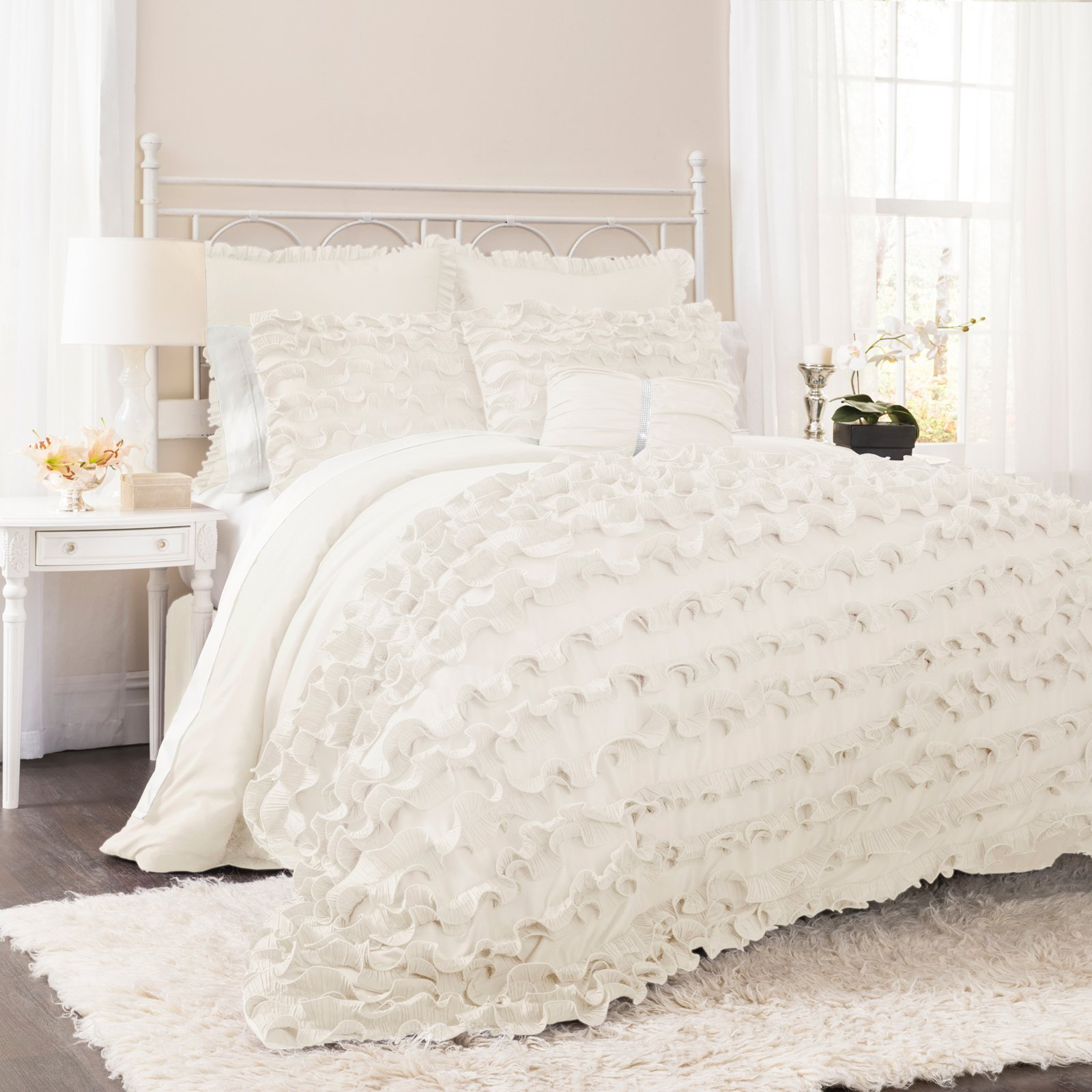 Best Lush Decor Avery 7 Piece Comforter Set Bedding And With Pictures