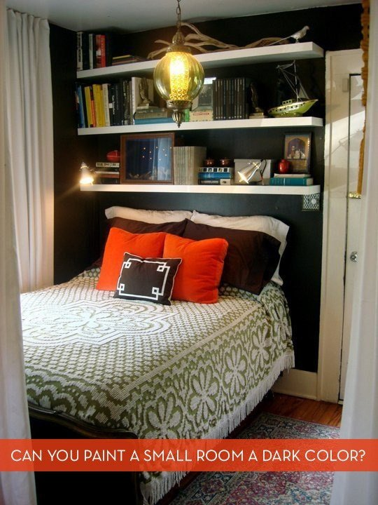 Best Decor Dispute Should You Paint A Small Room A Dark Color With Pictures