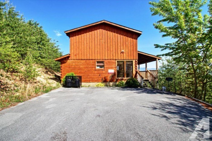 Best Eagle's View 1 Bedroom Tennessee Cabin Rentals Pigeon With Pictures