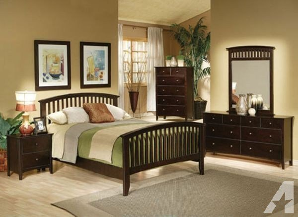 Best Nice Mission Style Bedroom Set Queen 6 Pc New In With Pictures