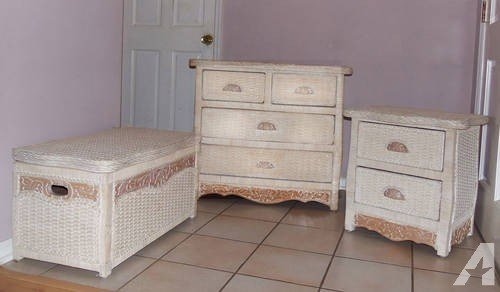 Best Wicker Dresser Set Pier One For Sale In Longwood Florida Classified Americanlisted Com With Pictures