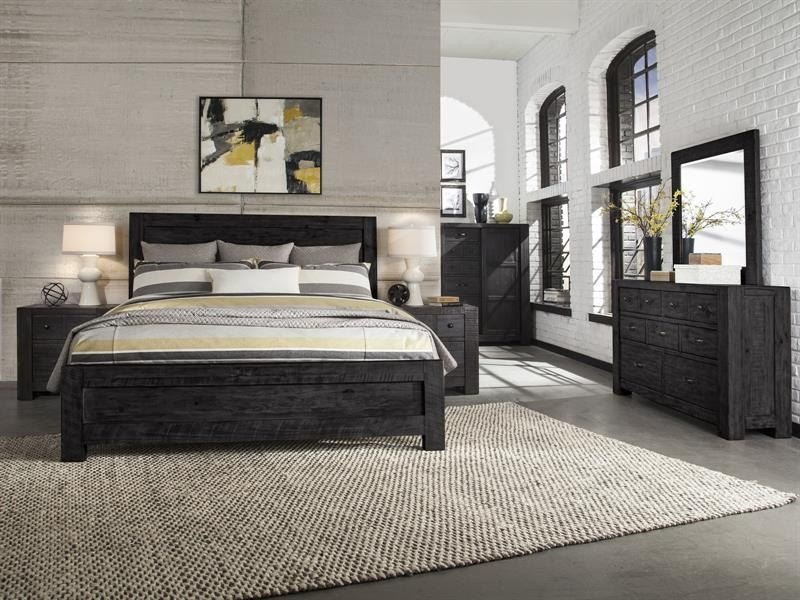 Best Magnussen Home Bedroom Complete Queen Panel Bed B4097 54 With Pictures