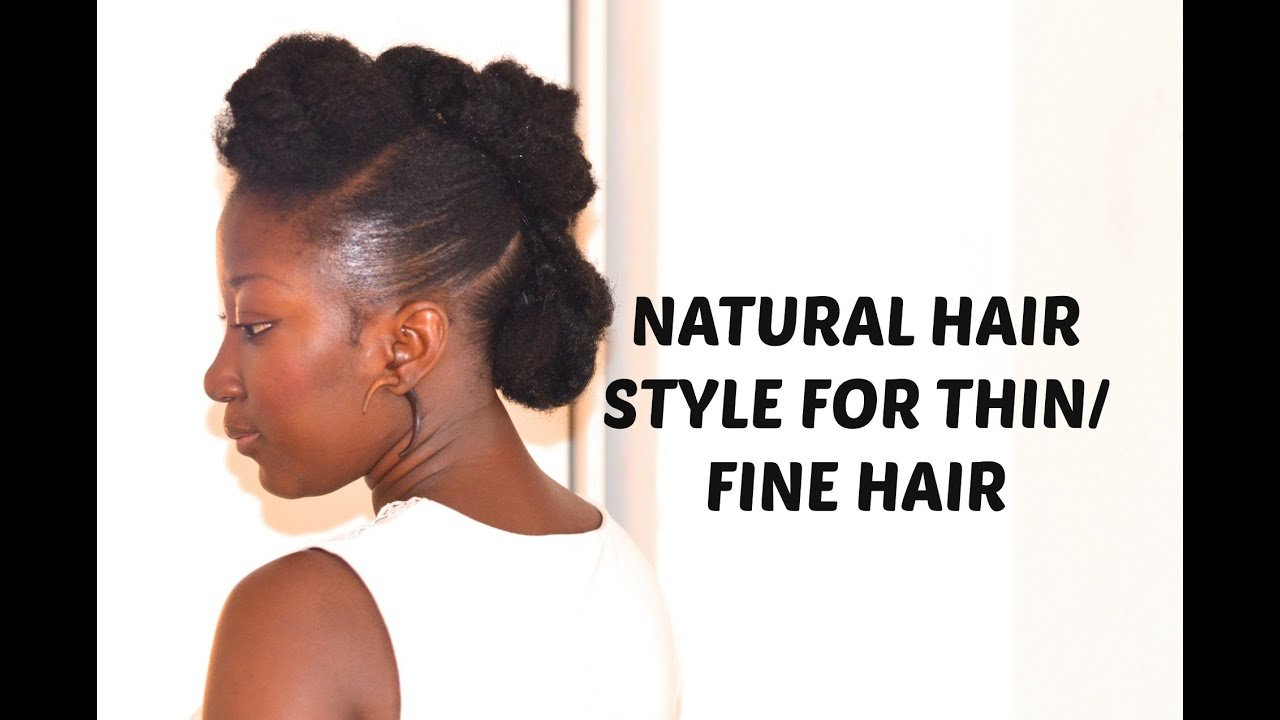 Free Natural Hair Style For Thin Fine Hair Youtube Wallpaper
