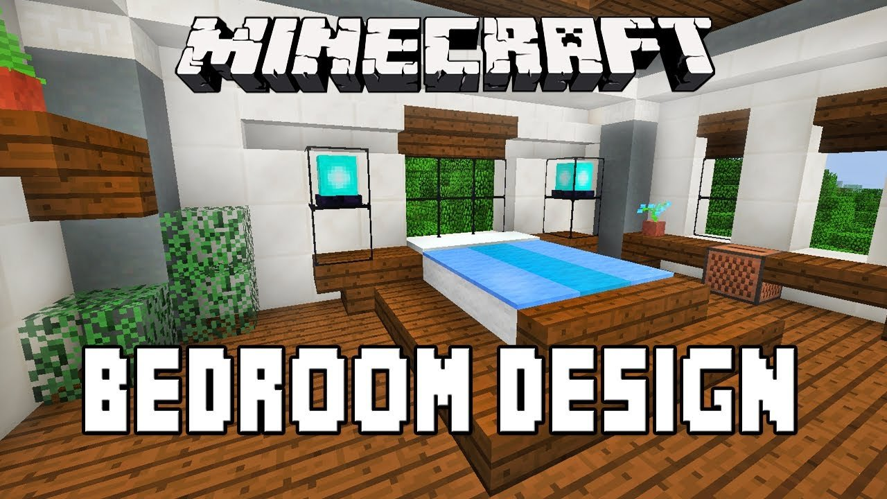 Best Minecraft Tutorial How To Make A Modern Bedroom Design Modern House Build Ep 15 Youtube With Pictures