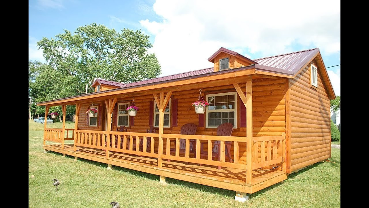 Best Amish Cabin Company Appalachian Model Tour Youtube With Pictures