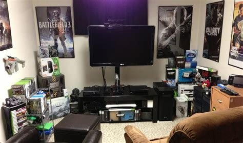 Best 2013 Gaming Setup Room Tour Youtube With Pictures