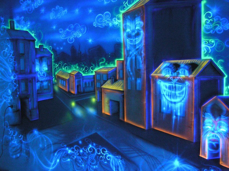 Best Amazing Glow In The Dark Bedroom Decoration With Pictures