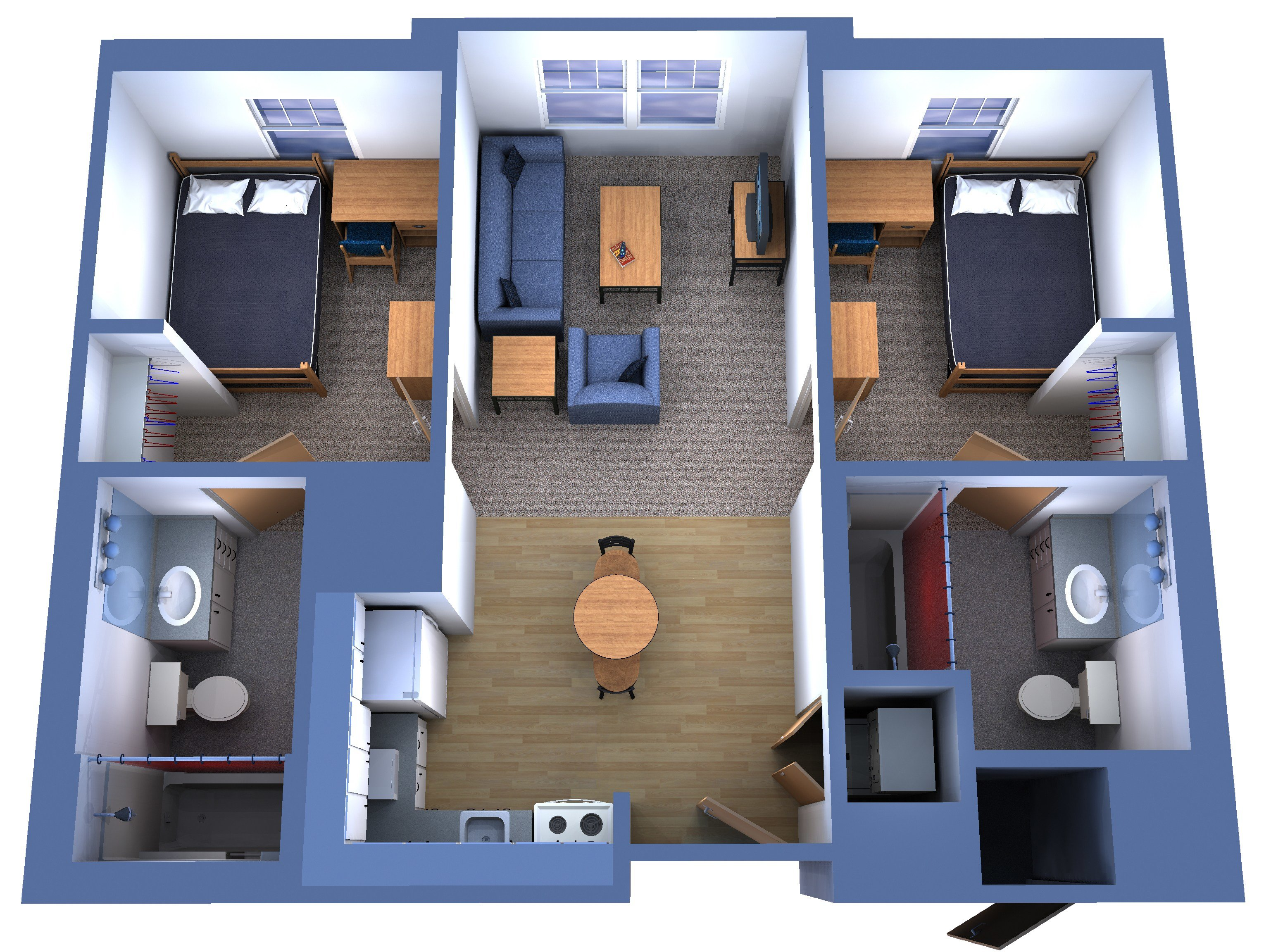 Best 2 Bedroom Apartments For Rent Near Me With Utilities With Pictures