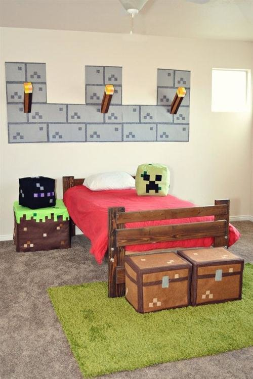 Best Minecraft Bedroom Ideas Tumblr With Pictures