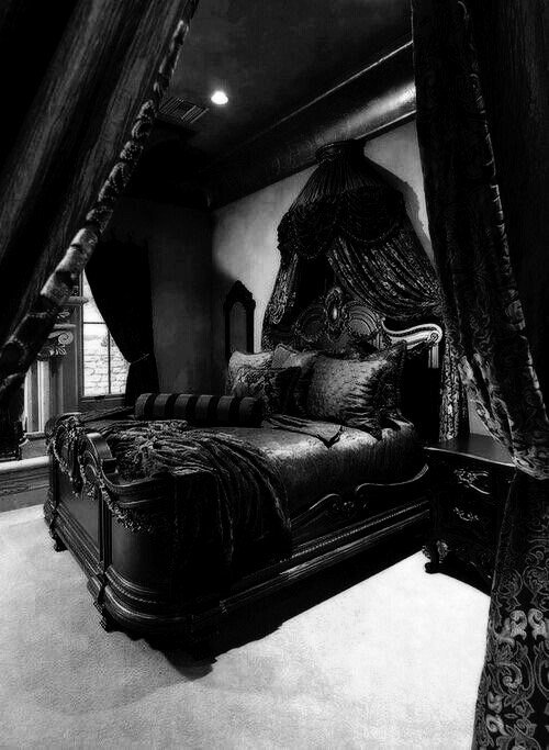 Best Bedroom Bed Dark Decor Furniture Gothic Room Decor With Pictures