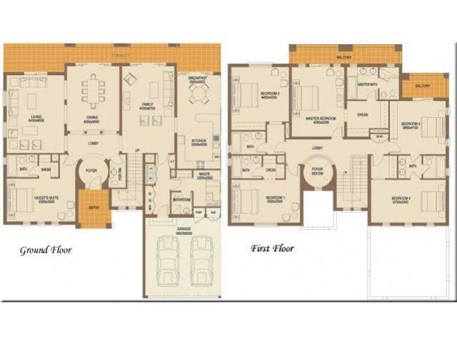 Best 6 Bedroom Floor Plans – Find House Plans With Pictures