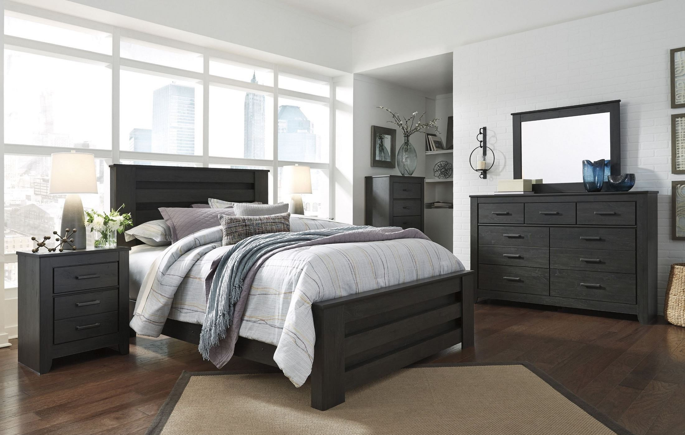Best Brinxton Black Poster Bedroom Set B249 67 64 98 Ashley With Pictures