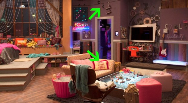 """Best 4 Super Details Quirky Of Dan Schneider S """"Icarly"""" Sets With Pictures"""