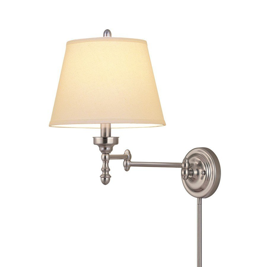 Best Amusing Wall Mount Swing Arm Lamp 2017 Design – Plug In With Pictures