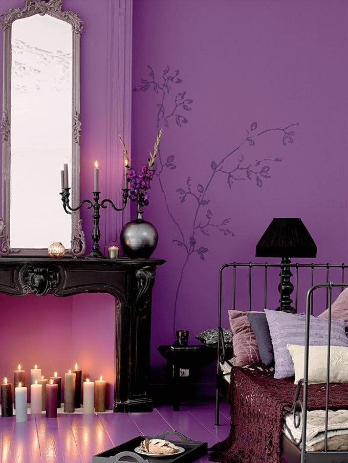 Best 24 Purple Bedroom Ideas Decoholic With Pictures