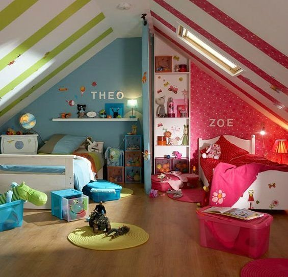 Best 26 Best Girl And Boy Shared Bedroom Design Ideas Decoholic With Pictures