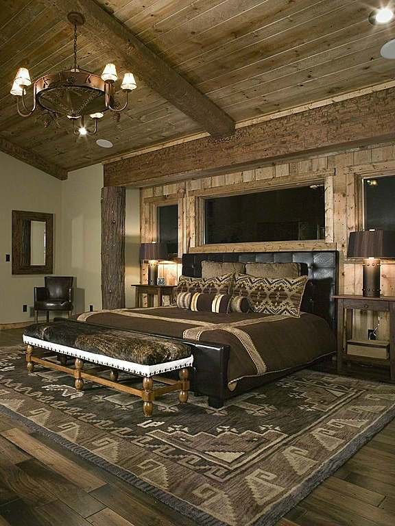 Best 50 Rustic Bedroom Decorating Ideas Decoholic With Pictures