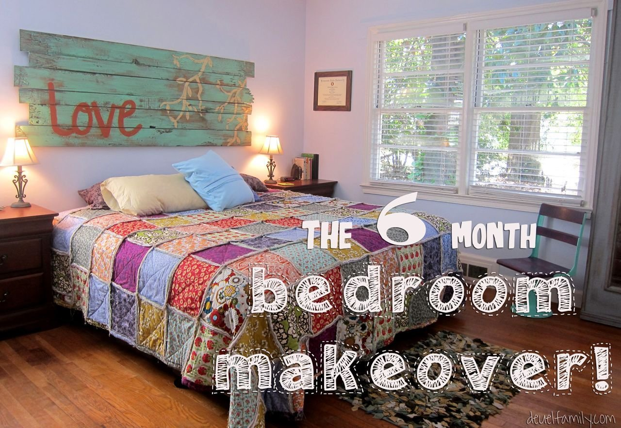 Best The Six Month Bedroom Makeover Spoonful Of Imagination With Pictures