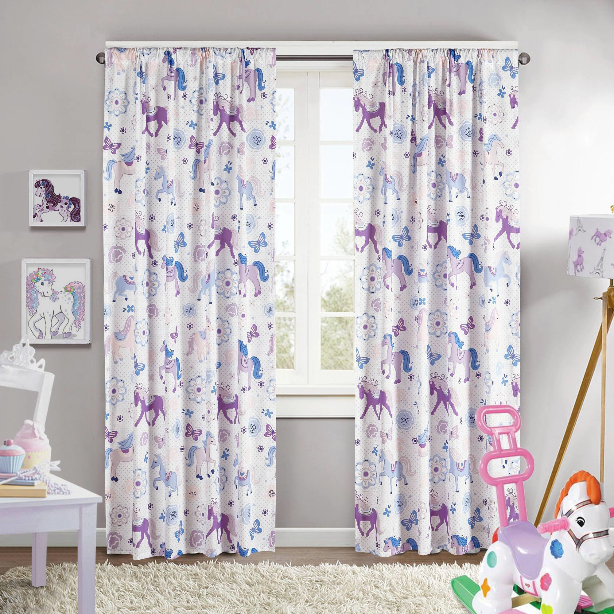 Best Kids Room Beautiful Flower Print Curtain Ideas For Kids With Pictures