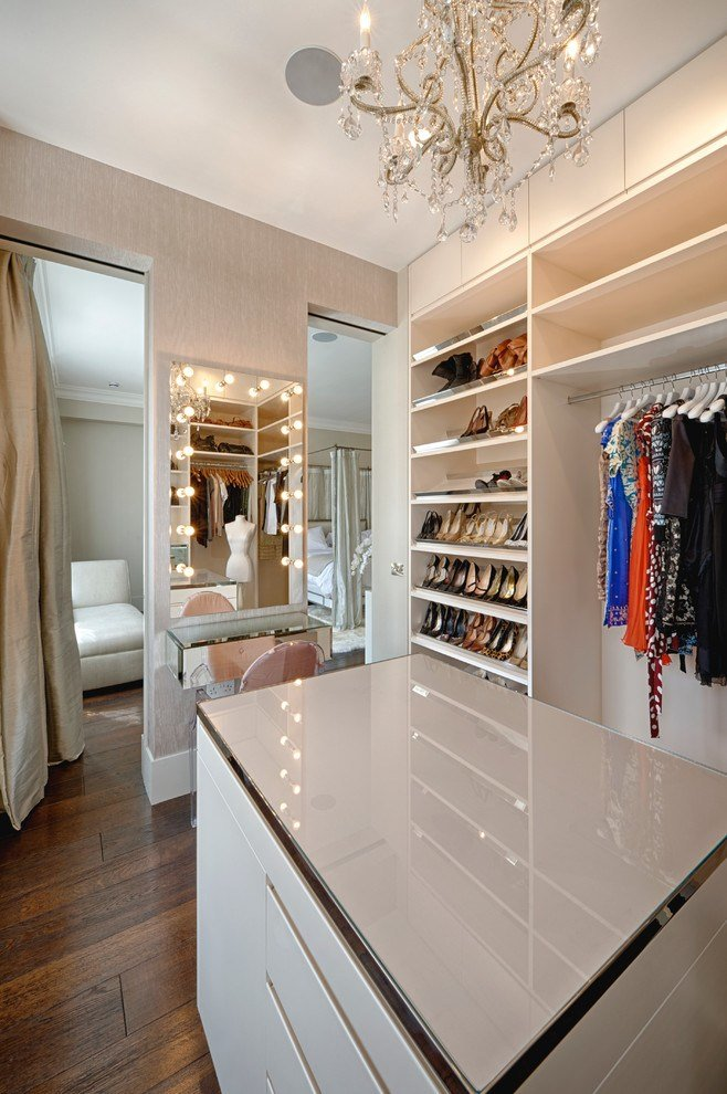 Best Bedroom Refurbishing Contemporary Style Dressing Room With Pictures