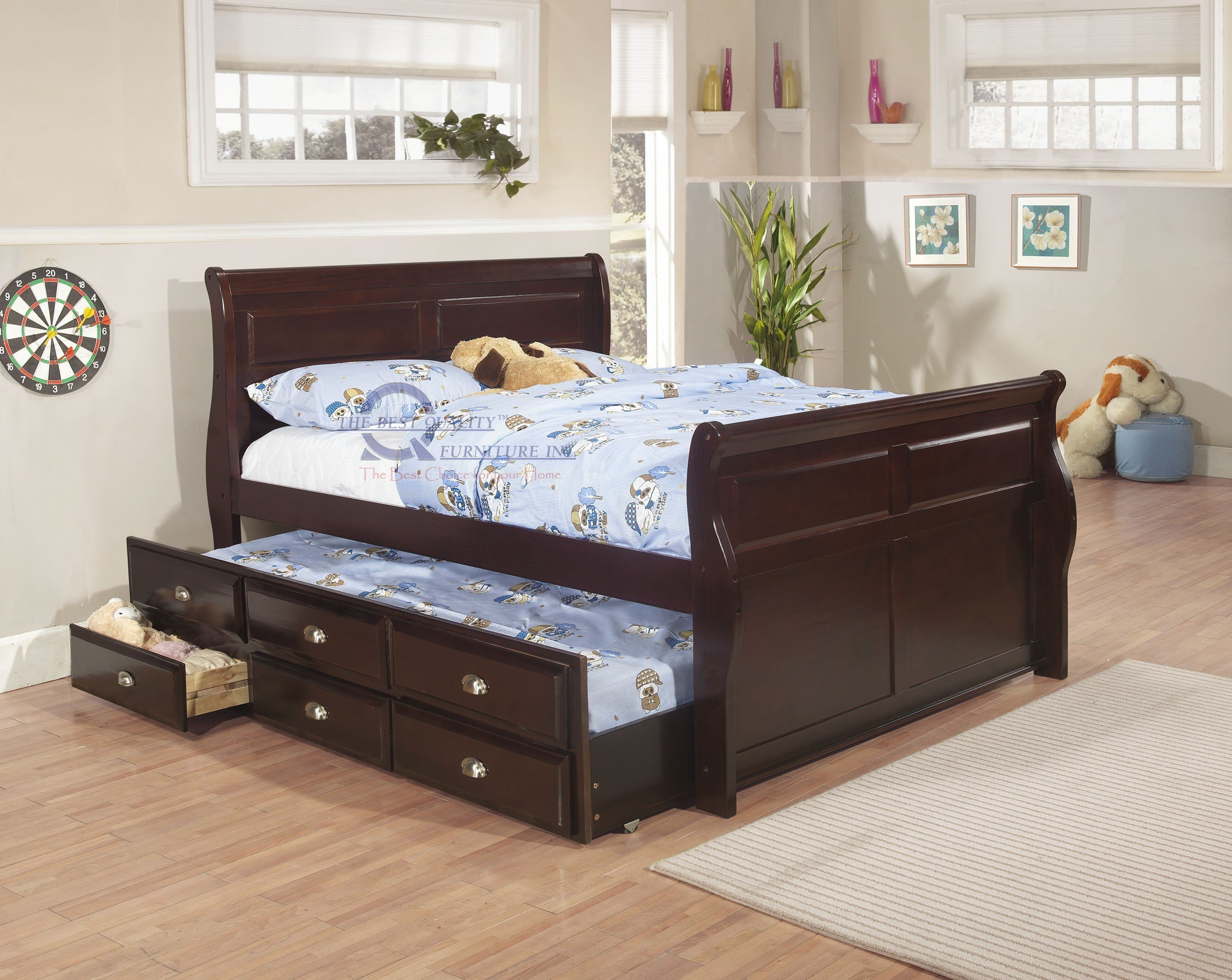 Best Twin Beds Furniture Bed With Drawers Underneath Toddler With Pictures