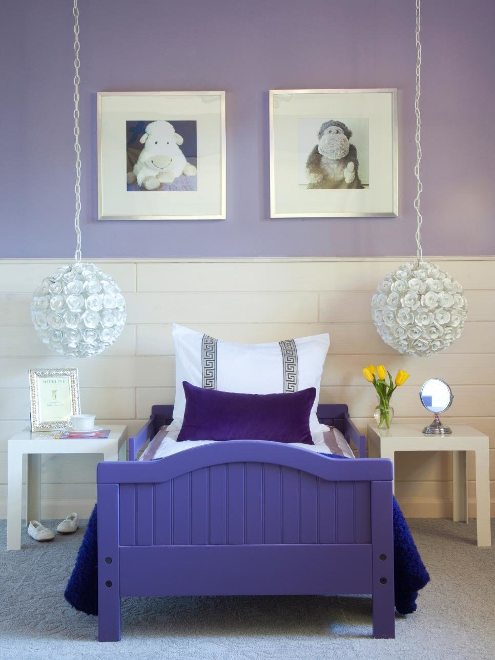 Best Purple Bedrooms For Your Little Girl Hgtv With Pictures