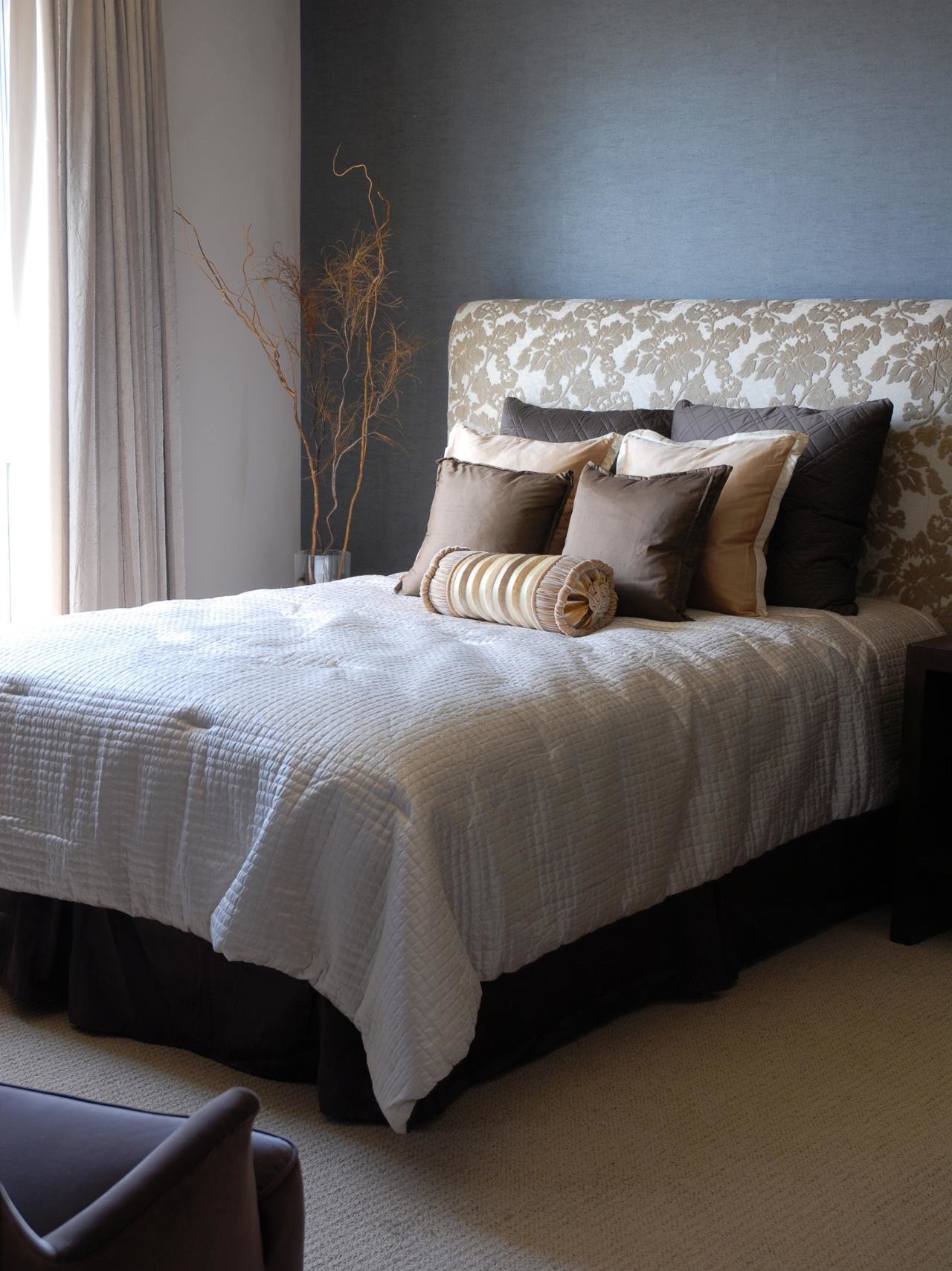 Best How To Make An Upholstered Headboard Hgtv With Pictures
