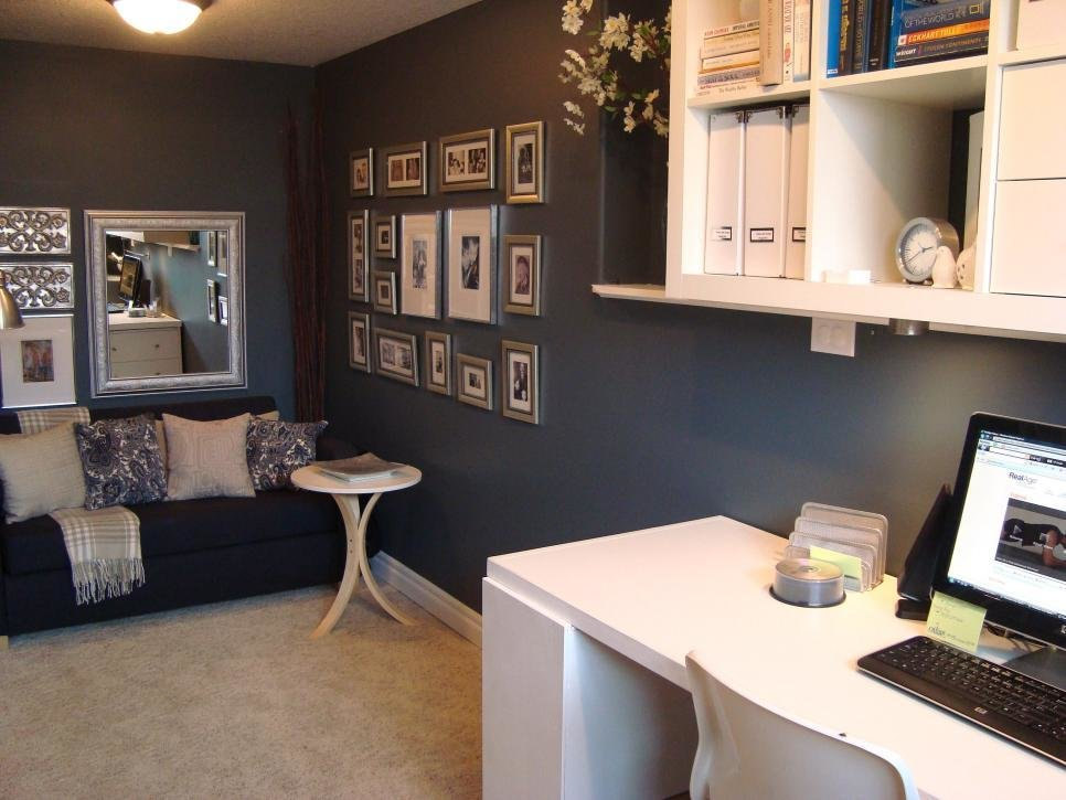 Best Neat Home Office Nooks Hgtv With Pictures