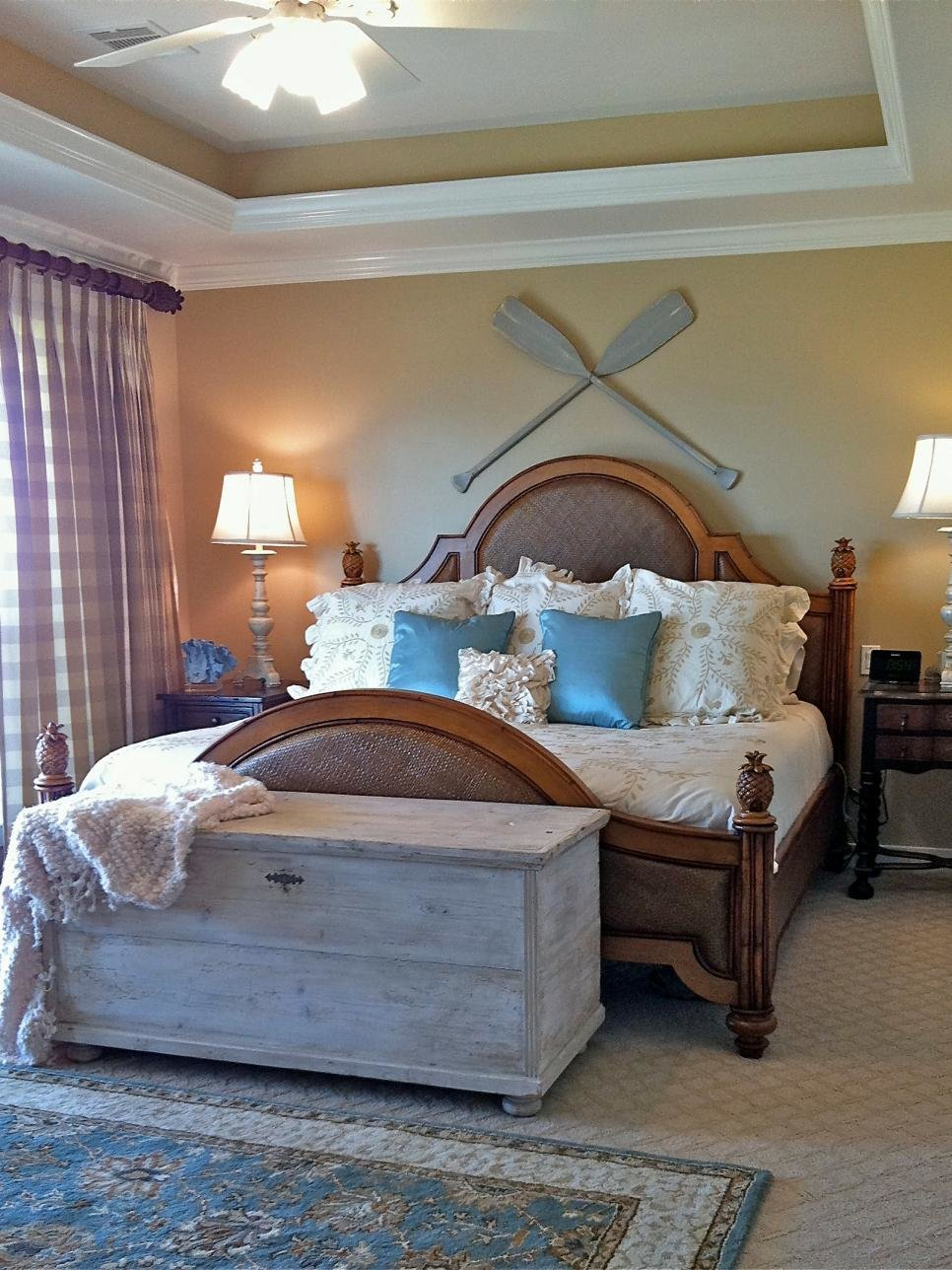 Best Coastal Inspired Bedrooms Hgtv With Pictures