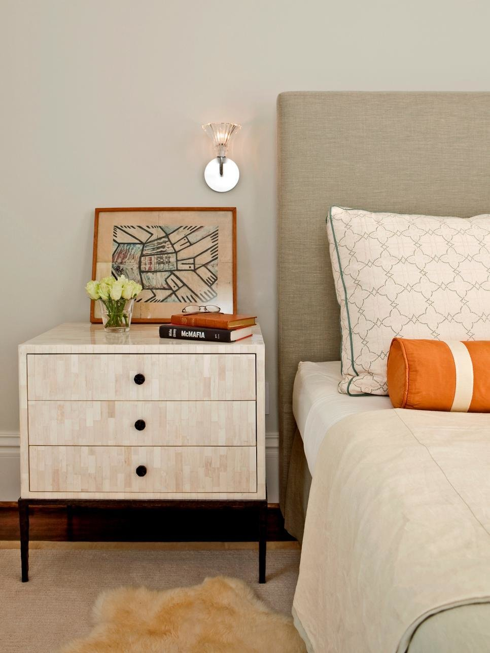 Best Tips For A Clutter Free Bedroom Nightstand Hgtv With Pictures