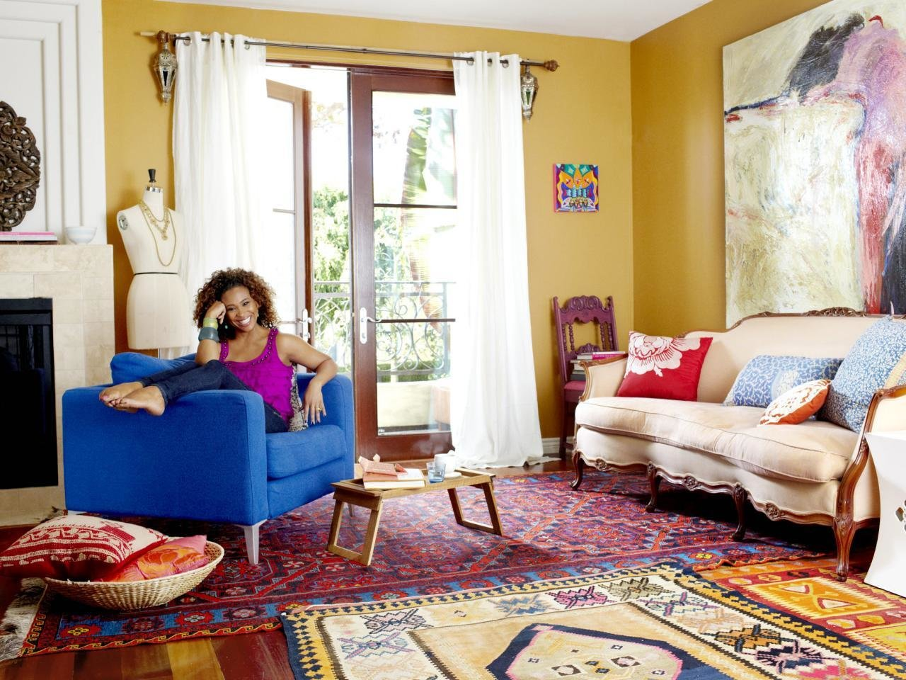 Best The Elements Of A Happy Living Room Hgtv With Pictures