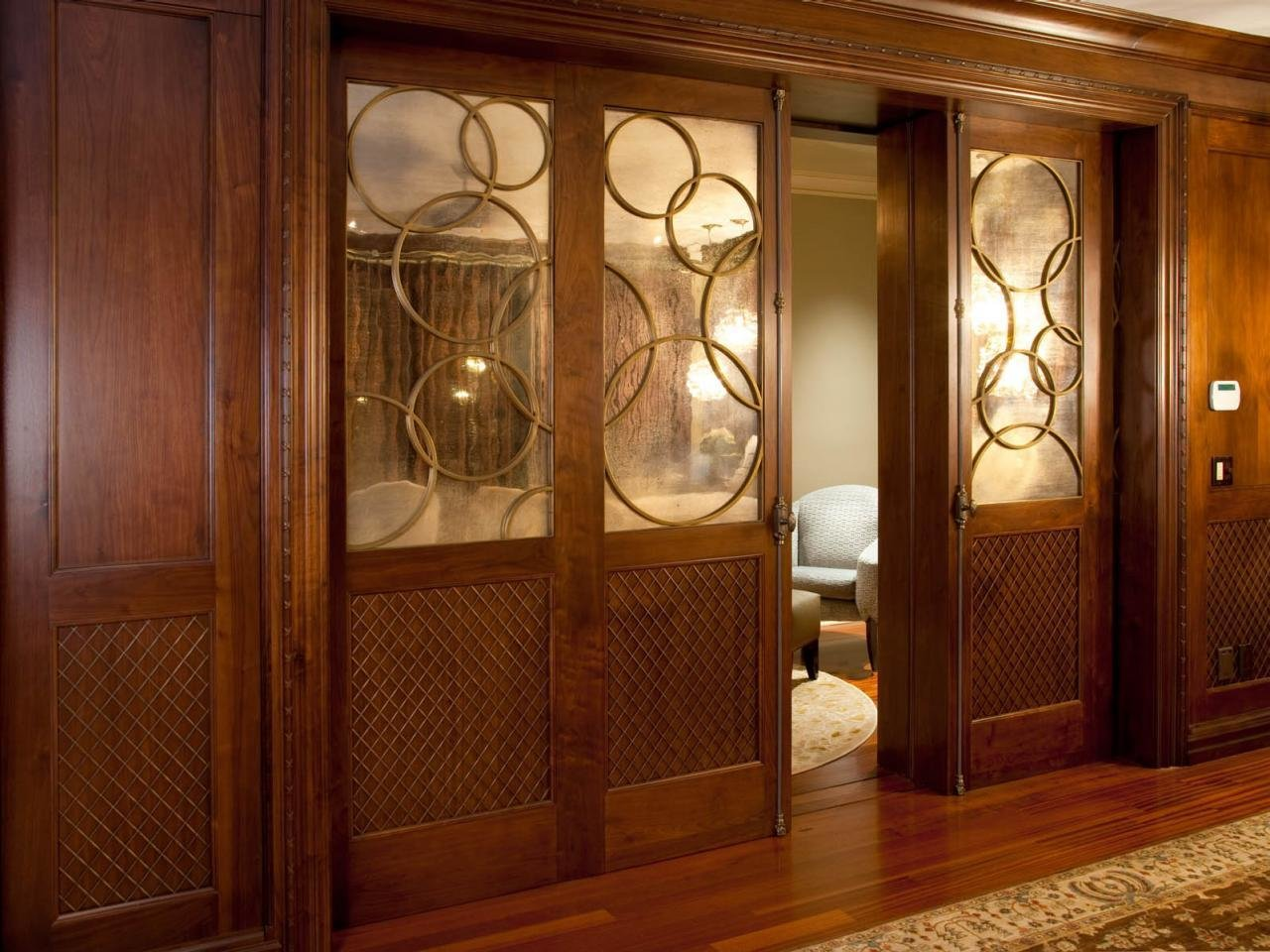 Best Master Bedroom With Custom Pocket Doors Hgtv With Pictures