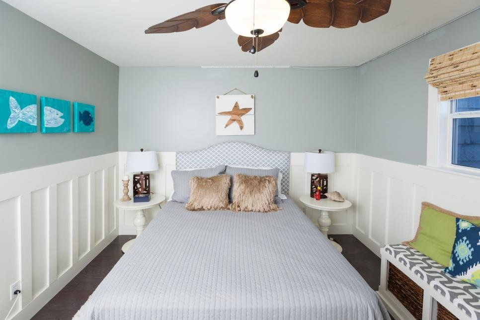 Best Rustic Luxe Guest Bedroom By The Beach Beach Flip Hgtv With Pictures