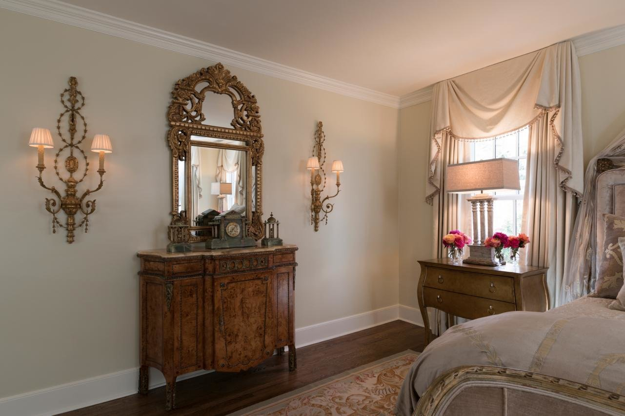 Best Feminine Victorian Master Bedroom With Distressed Wood With Pictures