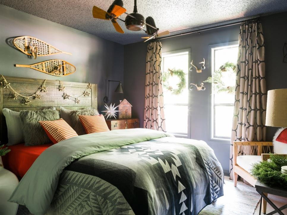 Best 11 Easy Ways To Add Holiday Cheer To Your Bedroom Hgtv With Pictures