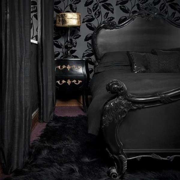 Best Thirteen Gothic Bedrooms Home Design And Interior With Pictures