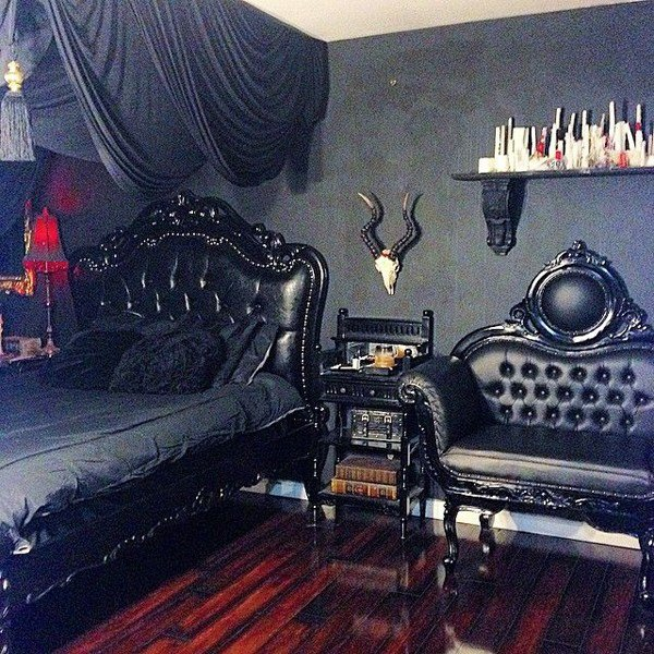 Best 13 Dramatic Gothic Room Design Ideas Home Design And Interior With Pictures