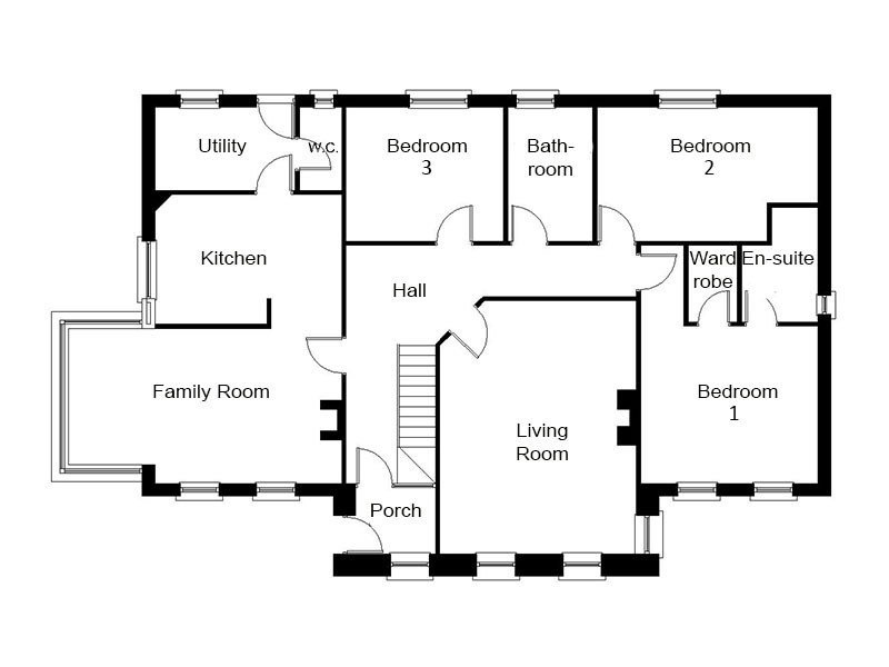Best Modern Dormer Bungalow Designs The Thornbury With Pictures