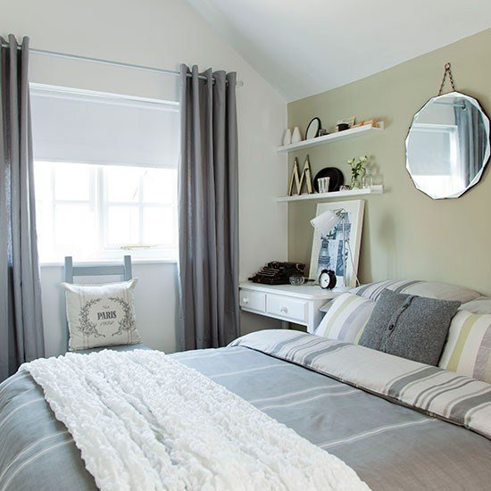 Best Soft Green And Grey Bedroom Bedroom Decorating Ideas With Pictures
